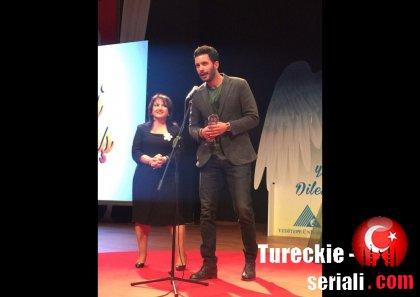 Церемония награждения Барыша Ардуча и Берка Октая