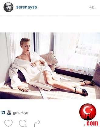 Серенай Сарыкая снимается в рекламе и в кино